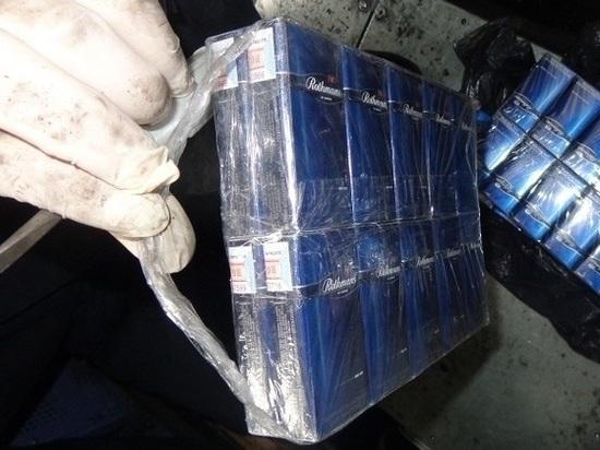 Контрабандные сигареты на 400 тысяч нашли в вагоне в Себежском районе