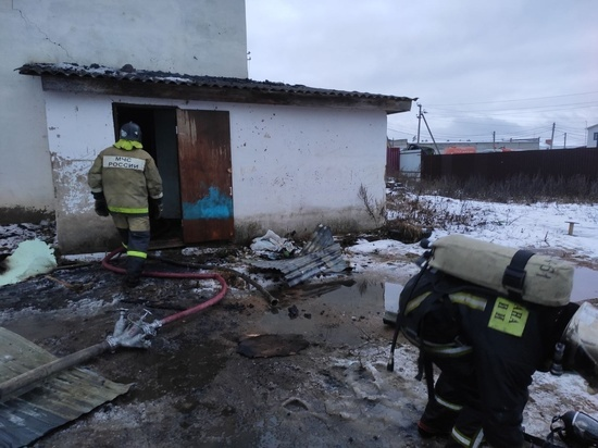 В Калужской области устанавливают личность погибшего при пожаре