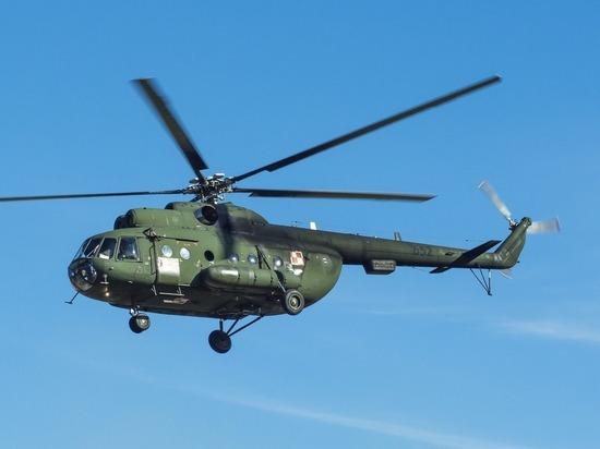 На Ямале упал вертолет Ми-8 с вахтовиками