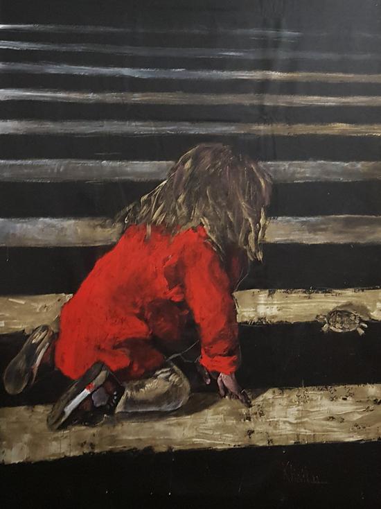 В Краснодаре открывается выставка Галины Хайлу «Красная линия»