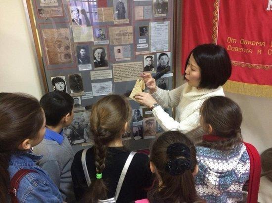 Калмыцкие школьники провели акцию «Музей и дети»