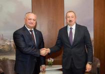 В Германии состоялась встреча президентов Молдовы и Азербайджана