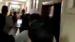 Драку и отравление студентов в новомосковском общежитии зафиксировала камера