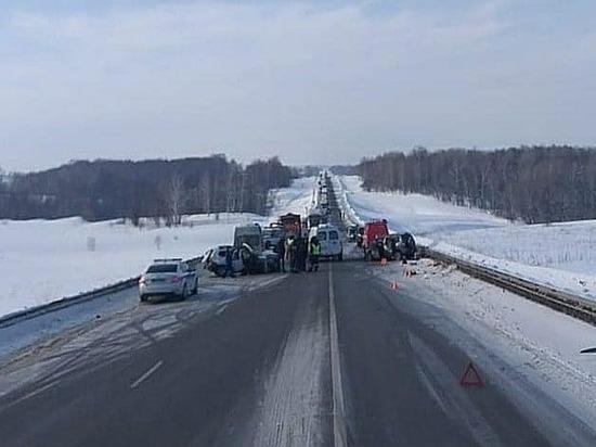 В чудовищной авария в Башкирии погибли двое мужчин и пострадал ребенок