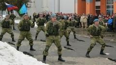 Камышинские десантники дошли до Серпухова