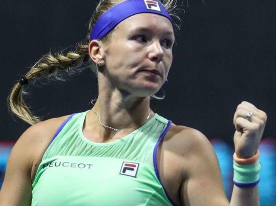 Кики Бертенс защитила титул чемпионки на турнире St.Petersburg Ladies Trophy