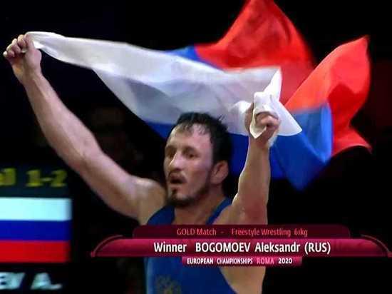 Борец из Бурятии стал чемпионом Европы по вольной борьбе