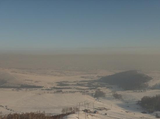 Красноярск стал первым в списке самых загрязненных городов мира