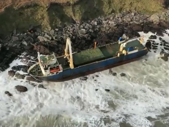 У побережья Ирландии появился «корабль-призрак»