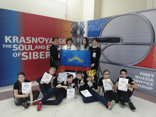 Мурманчане победили на Всероссийском чемпионате по робототехнике