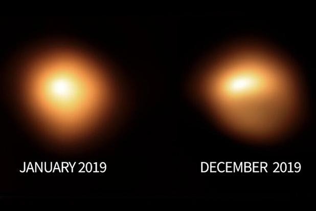 Ученые обнаружили затемнение звезды Бетельгейзе: превратится во вторую луну