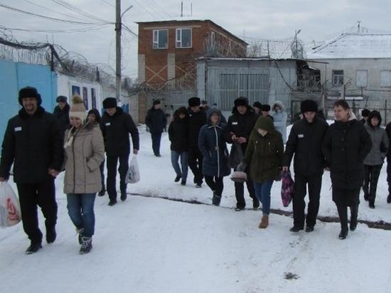 Традиционное посещение родственниками осужденных прошло в колонии №4 Ивановской области