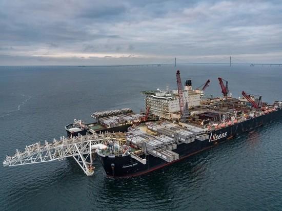 """""""Газпром"""" отказался говорить о будущем """"Северного потока-2"""""""