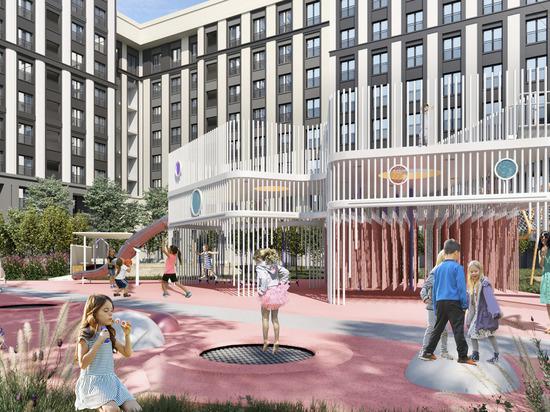 В Москве на Мичуринском проспекте, 30Б появится новый сквер