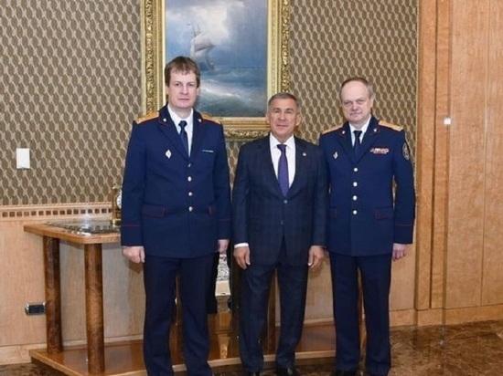 Рустам Минниханов встретился с новым руководителем СУ СК Татарстана