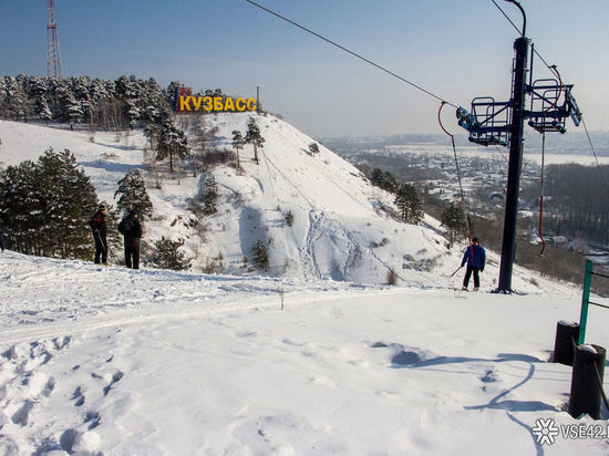 Горнолыжные подъёмники заработали в кемеровском Сосновом бору