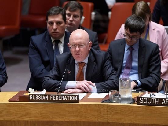 Небензя обвинил влиятельных украинских чиновников в саботаже Минских соглашений