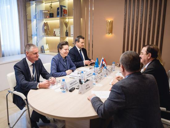 Югра и Сирия наметили векторы сотрудничества