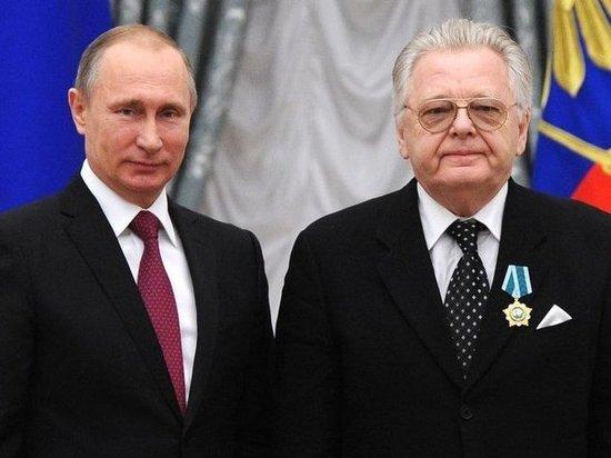 Владимир Путин поздравил композитора Юрия Антонова с 75-летним юбилеем