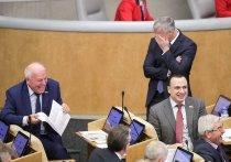 Депутаты вынудили Володина расхохотаться до слез
