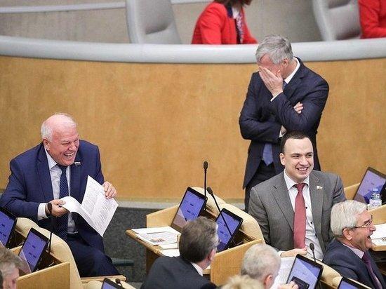 """Председателя парламента рассмешила идея трансляции заседаний в """"места для размышлений"""""""