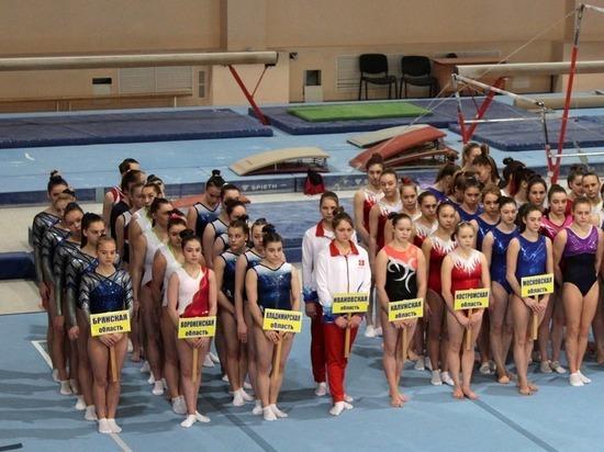 В Белгороде стартовал чемпионат ЦФО по спортивной гимнастике