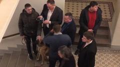 На концерте с присутствием Путина померяли температуру служебной собаке
