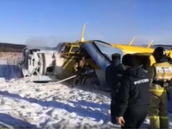 Названы возможные причины жесткой посадки самолета Ан-2 в Магадане