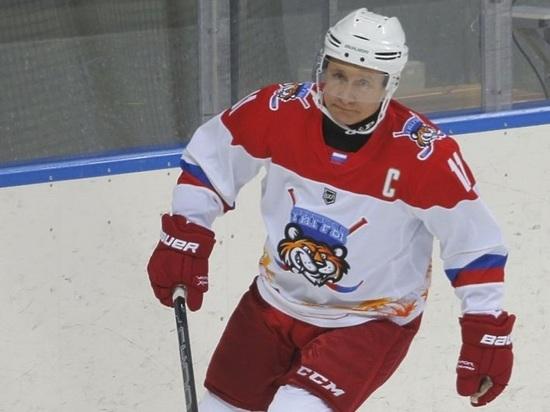 Песков рассказал об особенностях хоккейных матчей с Путиным