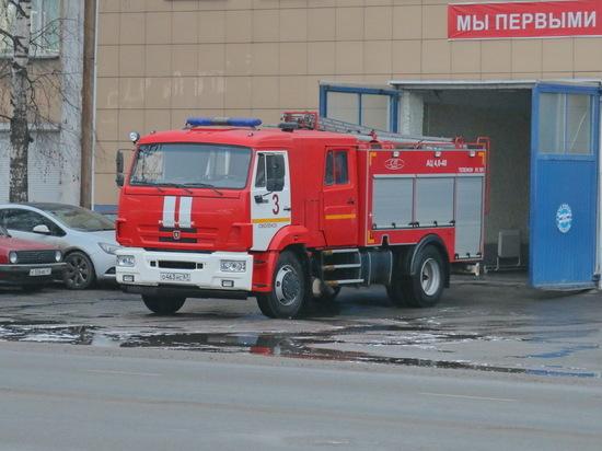 В Смоленске сгорел жилой дом