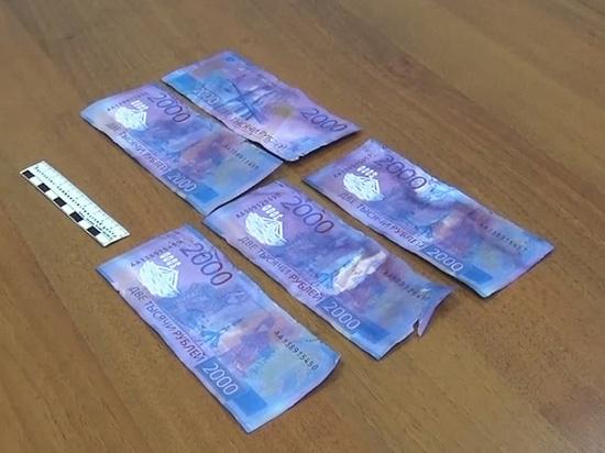 В Иванове задержали сбытчиков «фальшивок» номиналом в две тысячи рублей
