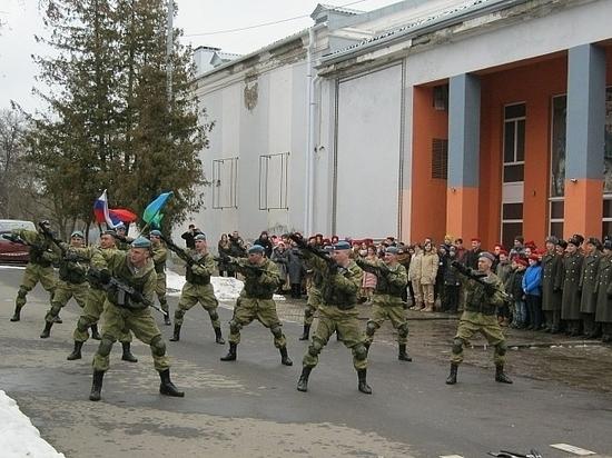 Десантники из Камышина посетили Серпухов
