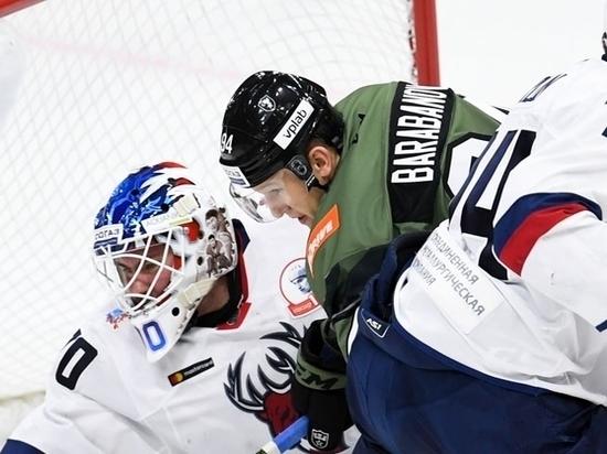 Барабанов принес СКА победу над «Торпедо»