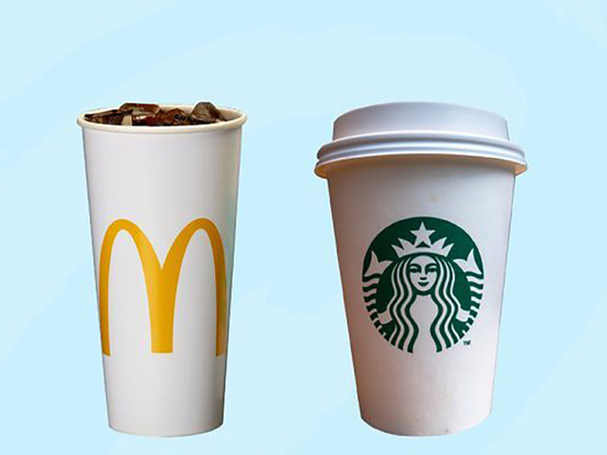 McDonald's и Starbucks тестируют многоразовые стаканчики на вынос