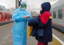 После того, как с поезда Киев-Москва в Брянской области сняли китаянку с подозрением на коронавирус (всего в карантин отправили 14 человек), в Москве на Киевском вокзале, куда должен прибыть состав, по нашим данным, предприняты особые меры безопасности