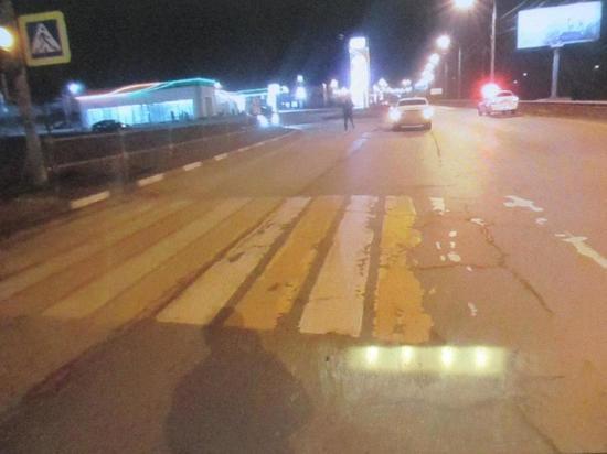 В Туле на Рязанской иномарка сбила мужчину