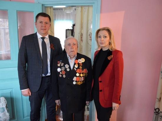 Депутат Госдумы поздравила защитников Отечества на Ставрополье