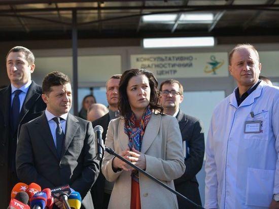 Глава Минздрава Украины покинула эвакуированных из Уханя
