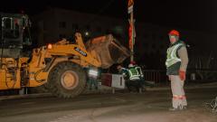 В Сети появились кадры закрытия «Милицейского» моста в Астрахани