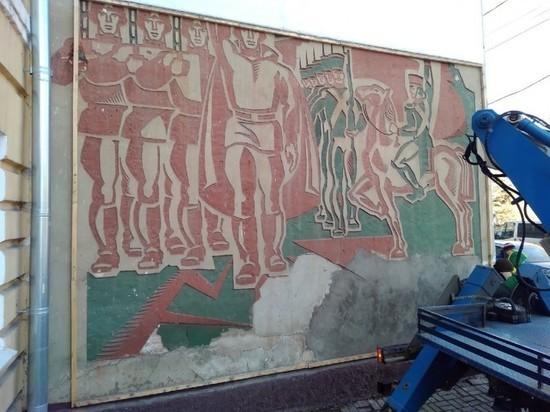 Знаменитое панно в центре Калуге восстановят к 650-летию