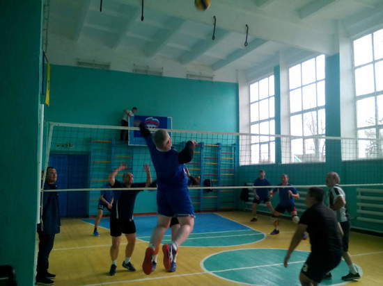 Волейбольные игры в честь героя Воробьёва из калмыцкой Воробьёвки