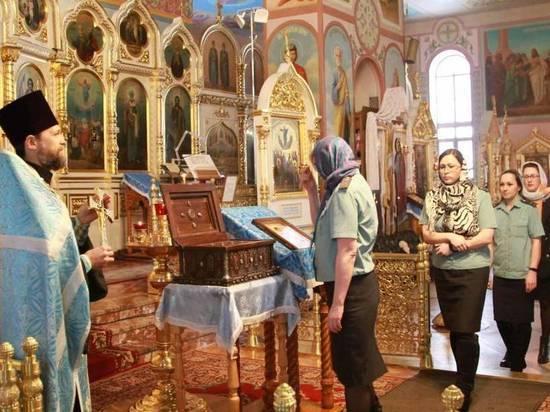 Приставы НСО помолились своему святому покровителю Феодору Стратилату