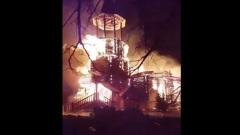 Храм сгорел в Подборках