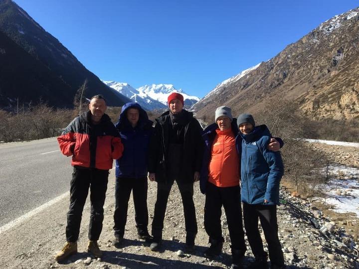 Альпинисты из Забайкалья совершили восхождение на Эльбрус