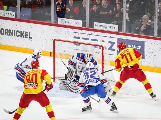 В КХЛ определилась первая пара плей-офф