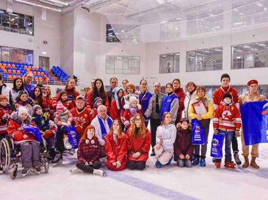Спортивная акция для детей с нарушениями здоровья прошла в Серпухове