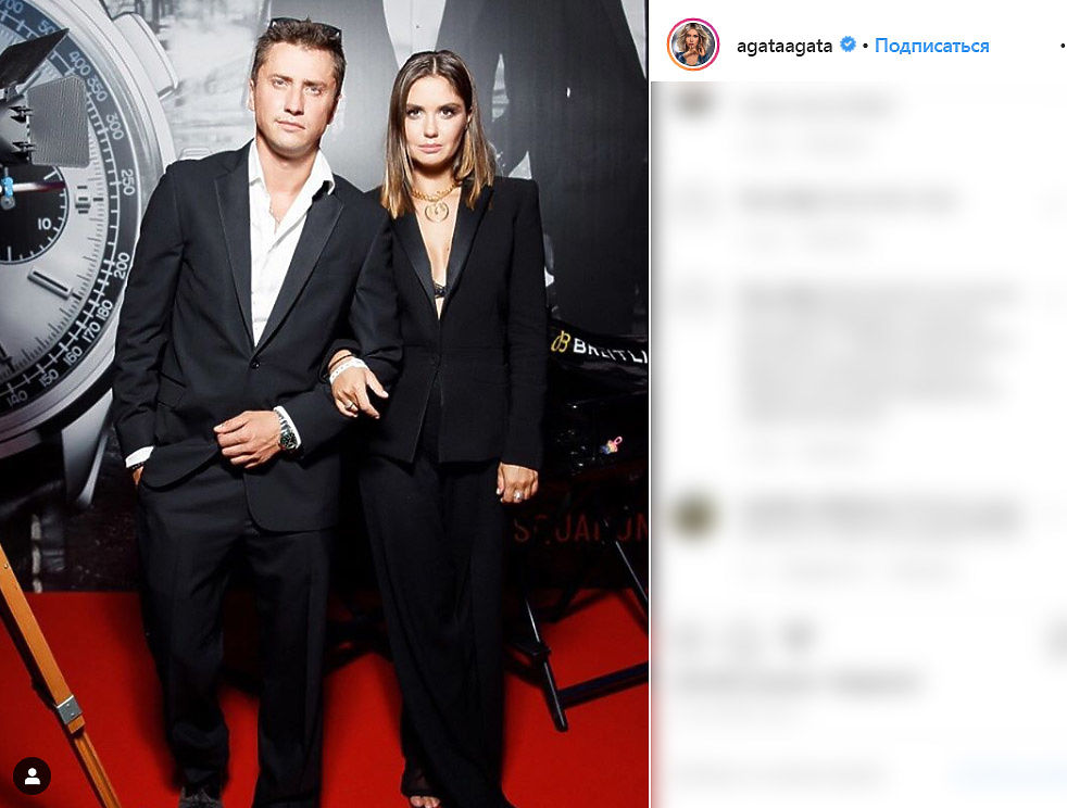 Павел Прилучный и Агата Муцениеце объявили о разводе: фотоистория пары