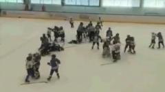 Детский хоккейный матч в Тольятти закончился массовой дракой: видео