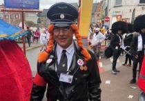 Участники шествия в Алсте использовали нацистские мундиры