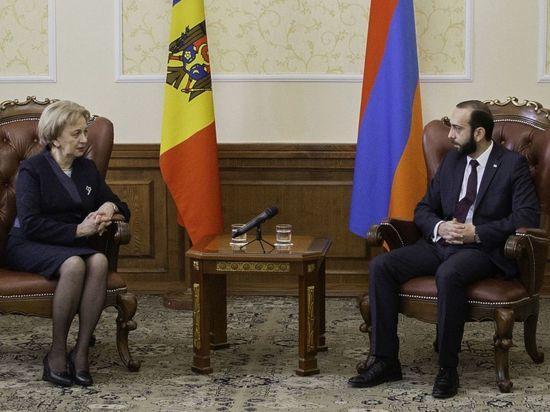 Первый визит в истории молдо-армянских межпарламентских связей